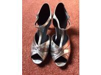 Ladies dancing shoes size 6.5