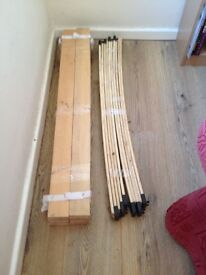 50 Wooden Bed Slats Bundle Need gone this week