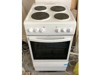 Freestanding single oven electric cooker