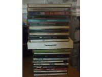 joblot of cds, 32,in total travis,keane,muse,ub40,kings of leon etc..