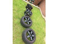 Rota GTR P45F 18x8 5x114.3 ET 45 Alloy wheels and tyres
