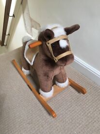 Gorgeous mamas and papas first rocking horse