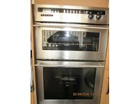 Built in Gas Oven & Grill, Electric Ceramic Hob & Stainless Steel Chimney Exrtractor