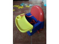 Booster seat for meal times