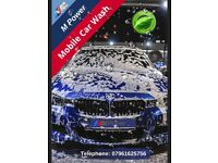 M Power Mobile Car Wash