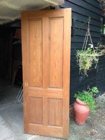 Four Panel Pine Door