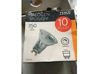 14 Halogen bulbs
