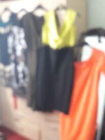 For sale £5 each item dresses size 14/16 shoes size 3