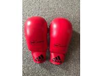 Adidas WKF karate mitts