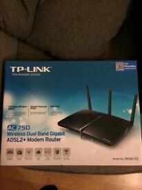 TP Link Archer D2 AC750 Wireless Duel band Modem