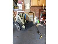 Stagecoach, Double Kids or camping / shopping folding bike trailer