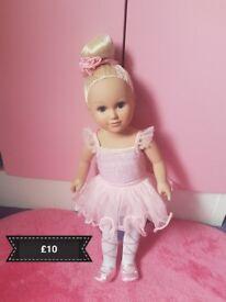 Ballerina doll like new.