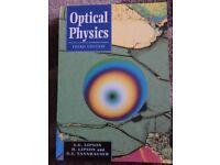 Optical Physics text book