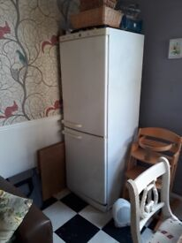 2 reliable second hand fridge freezers - Hotpoint and a Bosch