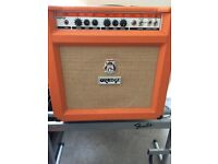 Orange TH30 combo and Fender amp stand