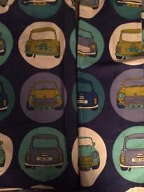 Cool Cars Kids Curtains