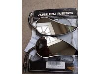 ARLEN NESS RAD 111 TEARDROP MIRRORS VERY VERY NICE CONDITION