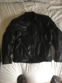 ARMR two piece leathers Black