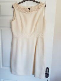 Principles cream dress in size 14