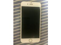 Faulty iPhone 6 - gold and white