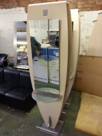 MG Bros Hairdressing Double Sided Styling Island Unit, Pre-Owned (2 Available)