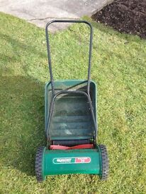 Qualcast Panther 30 hand-propelled mower.