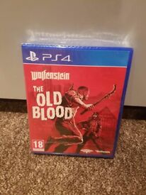 Wolfenstein The Old Blood - PS4 - Brand New & Sealed