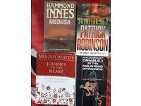 Books. 3 fiction and 1 meditation. Free