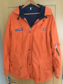 Wenaas fleece lined storm coat.Large.3/4 length used but in good condition
