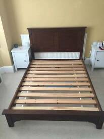Double Habitat bed frame