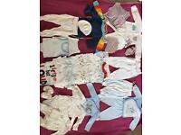Huge bundle baby boy clothes 0-6 months