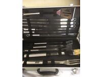Boxed barbecue stainless steel set
