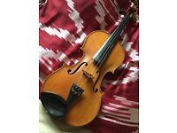 Beautiful French full size violin, labelled Geronimo Grandini, circa 1920