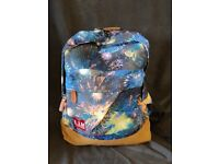 "L.I.M. (Less Is More) Child's Unisex ""Fireworks"" Rucksack 15.5"" x 13"" - Brand New"