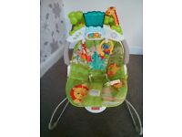 Fisher Price Baby Gear - Natures Deluxe Baby Bouncer