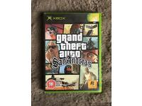 XBOX GTA SAN ANDREAS GAME 18+