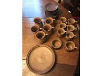 Larbet Pottery Tea Coffee Set