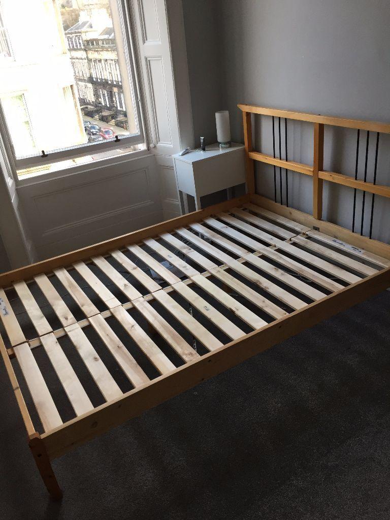 IKEA Rykene Double King Bed Frame