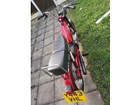 Avanti mort moped