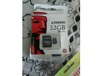 Memory card 32gb brand new packed