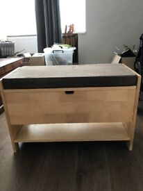 Shoe bench from Futon Company for Sale