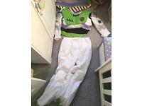 Adult Buzz Lightyear Fancy Dress Costume size XL