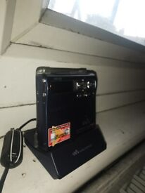 Sony MZ-N1 Type-R Net MD LP Walkman MiniDisc G-Protect Accessories USED BLUE