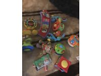 Toys and pushchair toys
