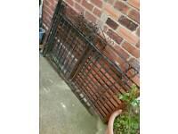 Iron drive gates and single gate