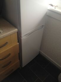 Like new fridge freezer with warranty