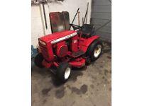 Barn find wheel horse tractor