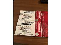 2x Taylor Swift Reputation Tour - Seated Tickets - Manchester Etihad Stadium Friday 8th June 2018
