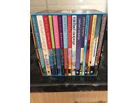 Michael Porpurgo and Roald Dahl boxed sets of books, as new.