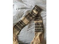 Accessorize fair isle scarf